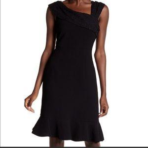 NEW Nanette Lepore Rich Romantics Black Dress
